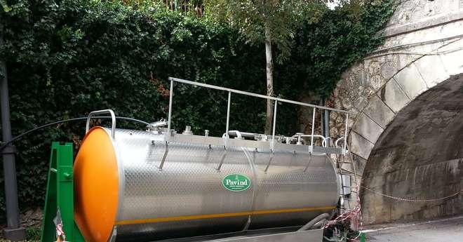 Gasolio nel fiume tasso resta il divieto di utilizzo dell for Volantino acqua e sapone l aquila