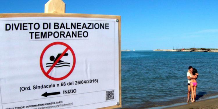 Ecco dove fare il bagno con lo slalom tra i divieti - Pescara - Il ...