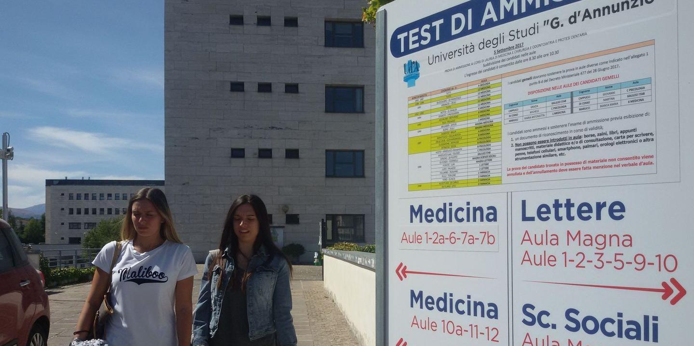 Test D Ingresso 4mila Studenti Alla Prova Chieti Il Centro
