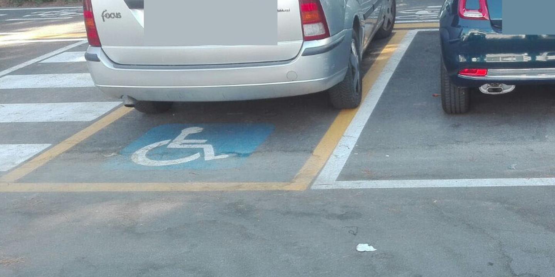 Risultati immagini per parcheggio disabili