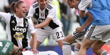 2ed576e47bfd Il trionfo della Juventus femminile nella sfida scudetto contro la  Fiorentina