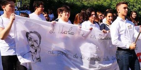 Legalità, 800 in marcia con don Merola - Chieti - Il Centro