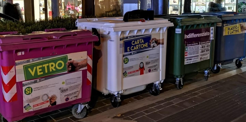 Box Per Bidoni Spazzatura rifiuti, dal 2020 niente cassonetti nelle vie del centro e a